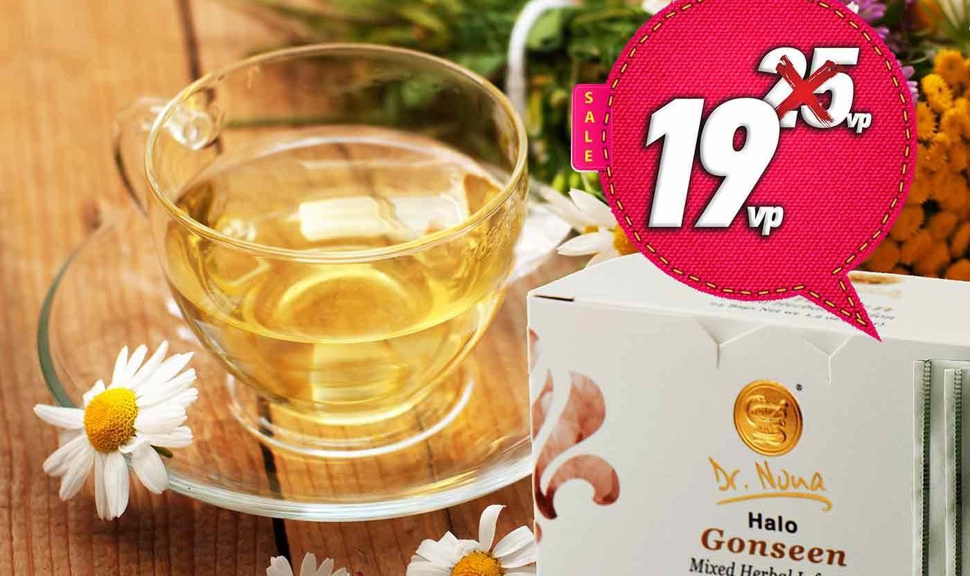 """Снижение бальной стоимости Чая """"Гонсин"""""""