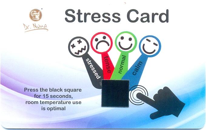 """Новинки от компании """"Dr.Nona"""". Anti-Stress Card"""